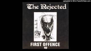 "THE REJECTED (Australia) - First Offence EP - 7"" - Emi Custom records - 1985"