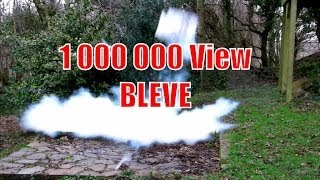 Big Liquid Nitrogen Boiling Liquid Expanding Vapour Explosion (BLEVE)