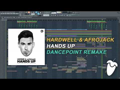 Hardwell & Afrojack Feat. MC Ambush - Hands Up (FL Studio Remake + FLP)