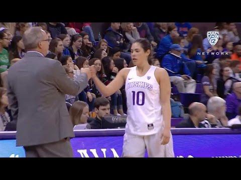 Recap: Kelsey Plum becomes Pac-12 leading scorer, Washington defeats Boise State