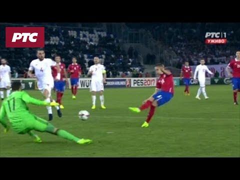 Fudbal: Gruzija - Srbija 1:3