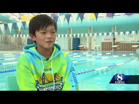Meet Salinas swimming star Clark Kent Apuada