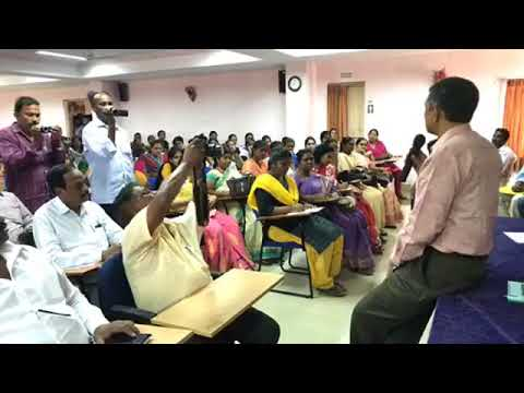 Dr Jayaprakash Narayan interacting with NGRanga Agri  University Students, Bapatla