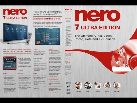 สอนลง Nero 7 ถาวร