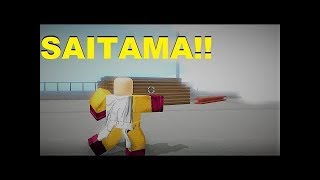 Roblox Anime Cross 2 GamePlay Of Saitama