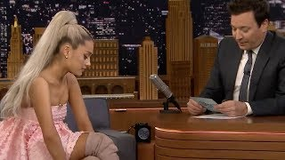 Ariana Grande Takes OVER Jimmy Fallon's Tonight Show In A Must Watch Interview & Performance!