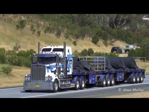 Australian Trucks : Nth Bound on The Hume Highway Part 2 Wed 28/10/15