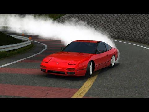 Oluto Racing Nissan 240sx Drift Tune No Steering Ist