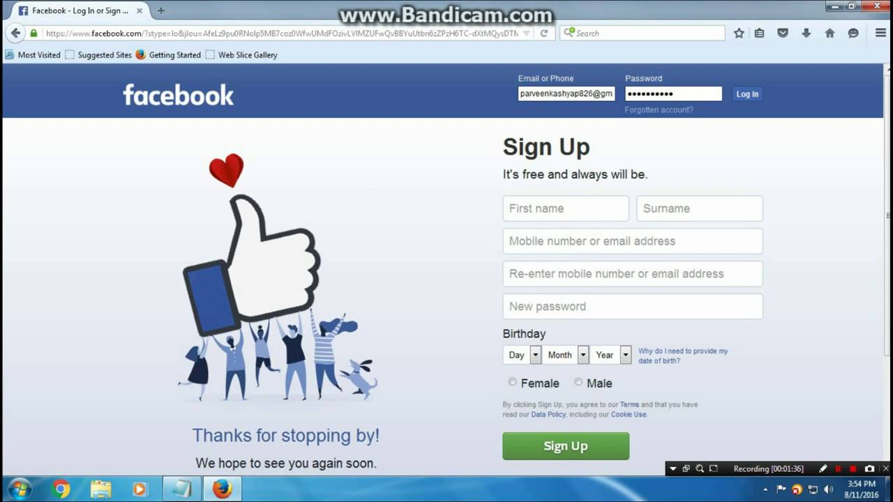 How to Login Facebook without Password 2016 ( Hindi / English )