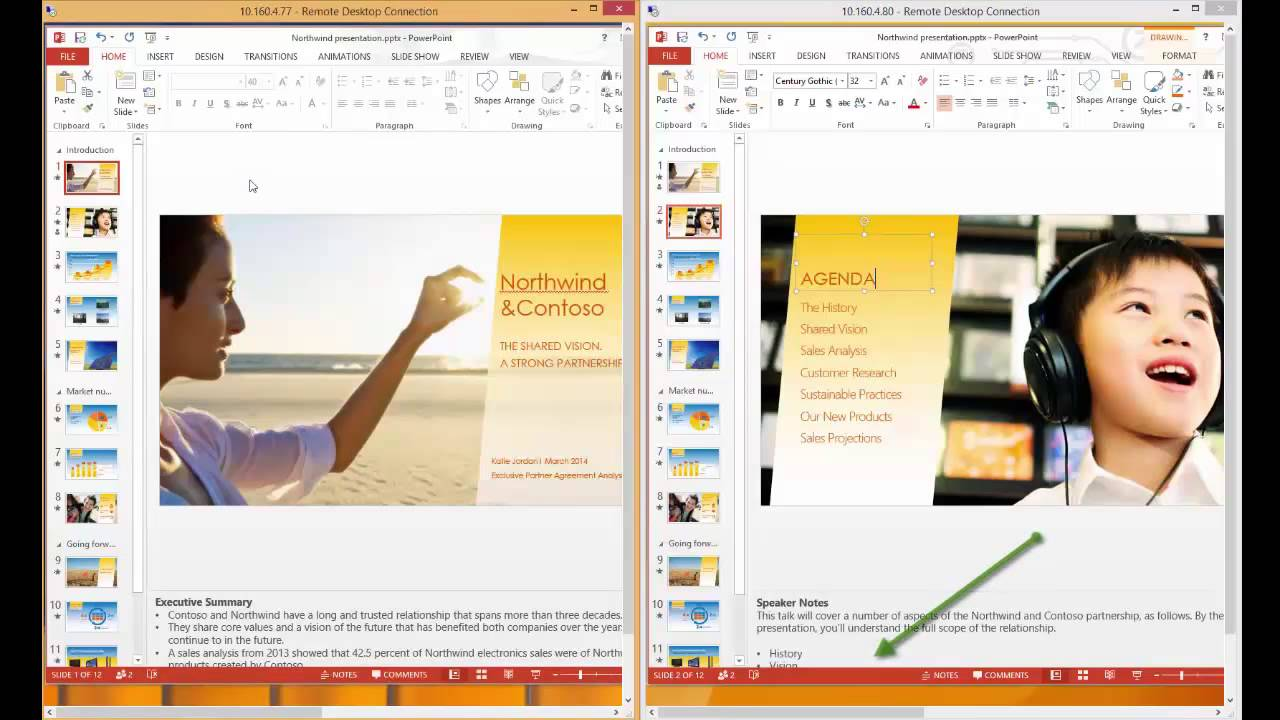 Microsoft Office Free Trial >> SharePoint Online co-authoring in PowerPoint - YouTube