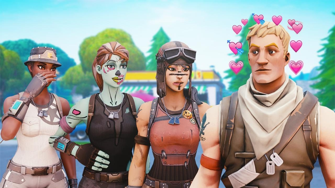 I let girls tryout for my clan, THEN they did this... (Fortnite)