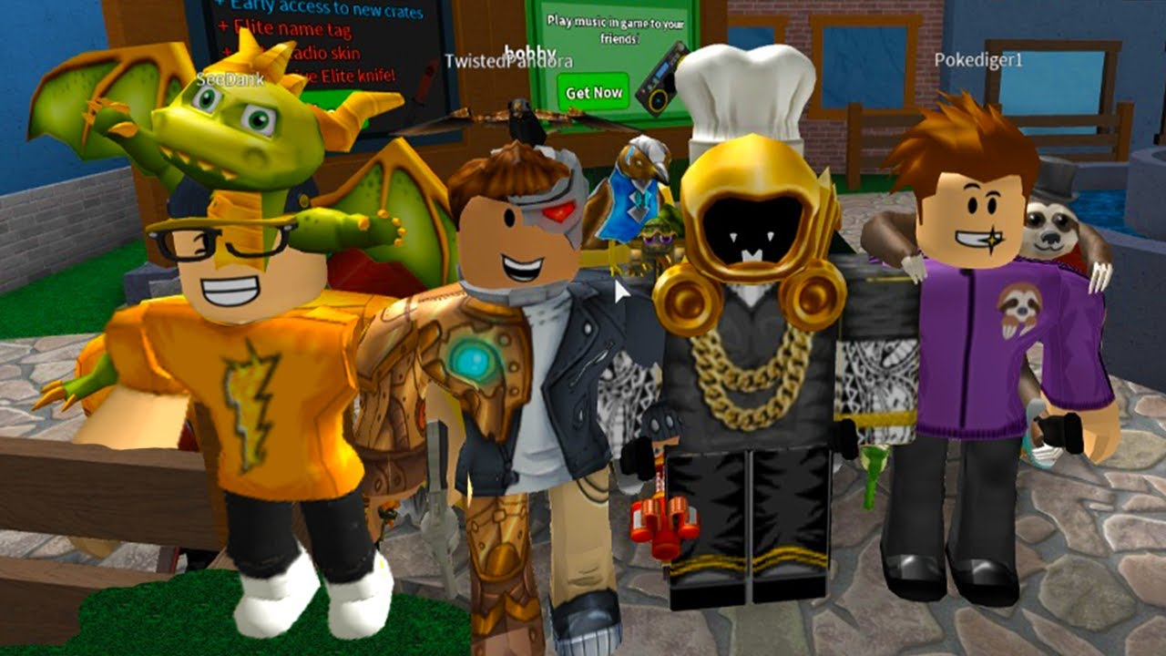 Team Turtle Is Unbeatable Youtuber Roblox Survivor - Youtuber Only Roblox Murder Mystery 2