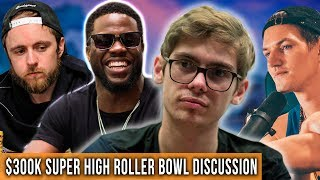 Day 2 $300k Super High Roller Bowl Discussion W/ Patrick Leonard