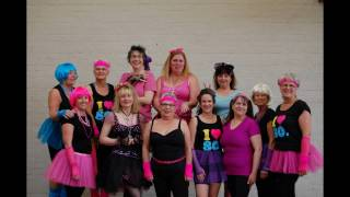 FitSteps 80s party night