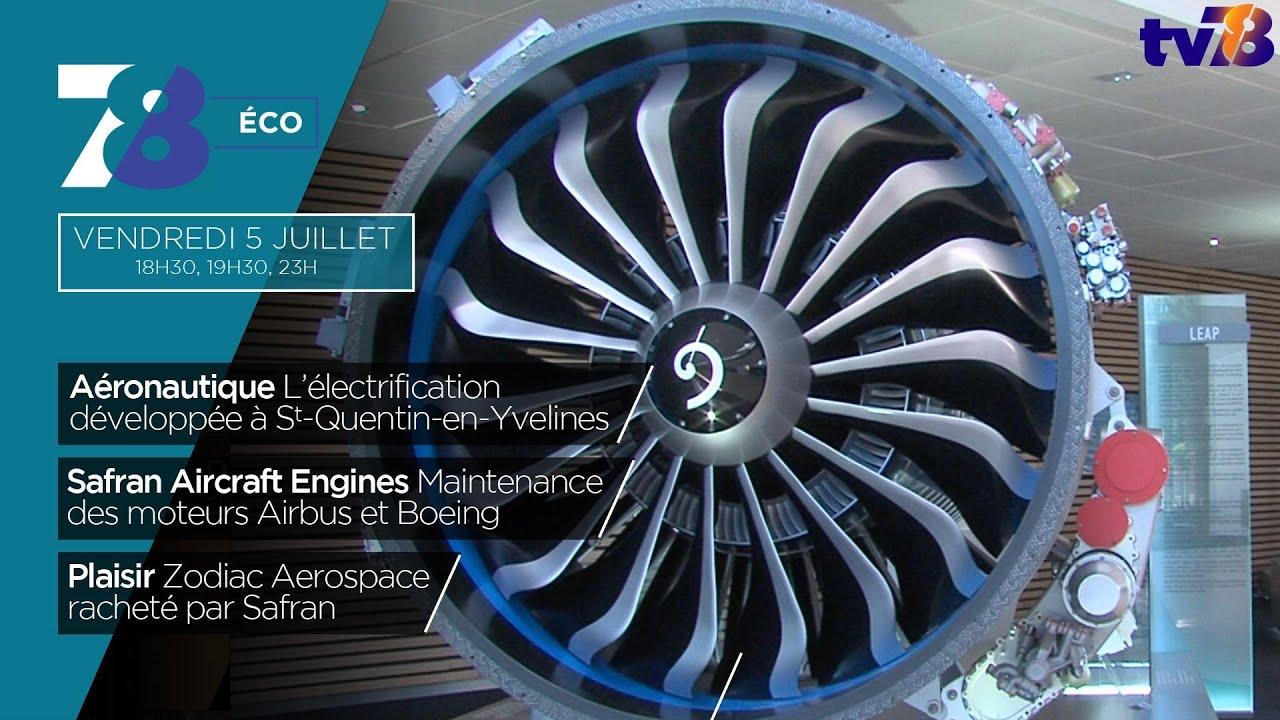 7/8 Eco. L'innovation aéronautique au premier plan à Saint-Quentin-en-Yvelines