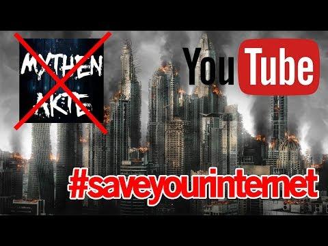 YouTube muss ALLE Kanäle löschen - Die gruselige Wahrheit #saveyourinternet | MythenAkte