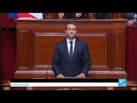 REPLAY - Watch French President Macron's Address to Congress in Versailles