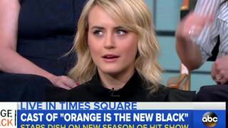 Orange is the new black Season 4, 5 Interview (NEW 2016)