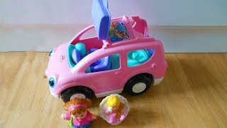 Fisher Price Little People - Open And Close Suv-car pink