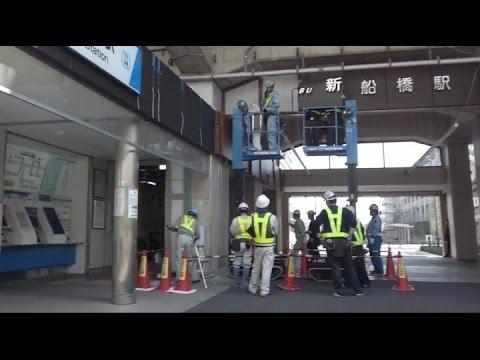 乗り換え》東武・新船橋駅から東...