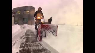 Sněhová fréza MTD ME 61 - TEST
