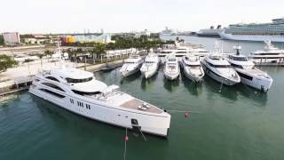 Island Gardens Hosts the Second Annual SuperYacht Miami 2017