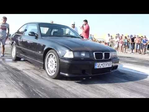 BMW E36 2.8i(308HP) vs OPEL CALIBRA