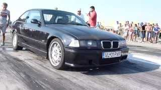 BMW E36 2.8i vs OPEL CALIBRA