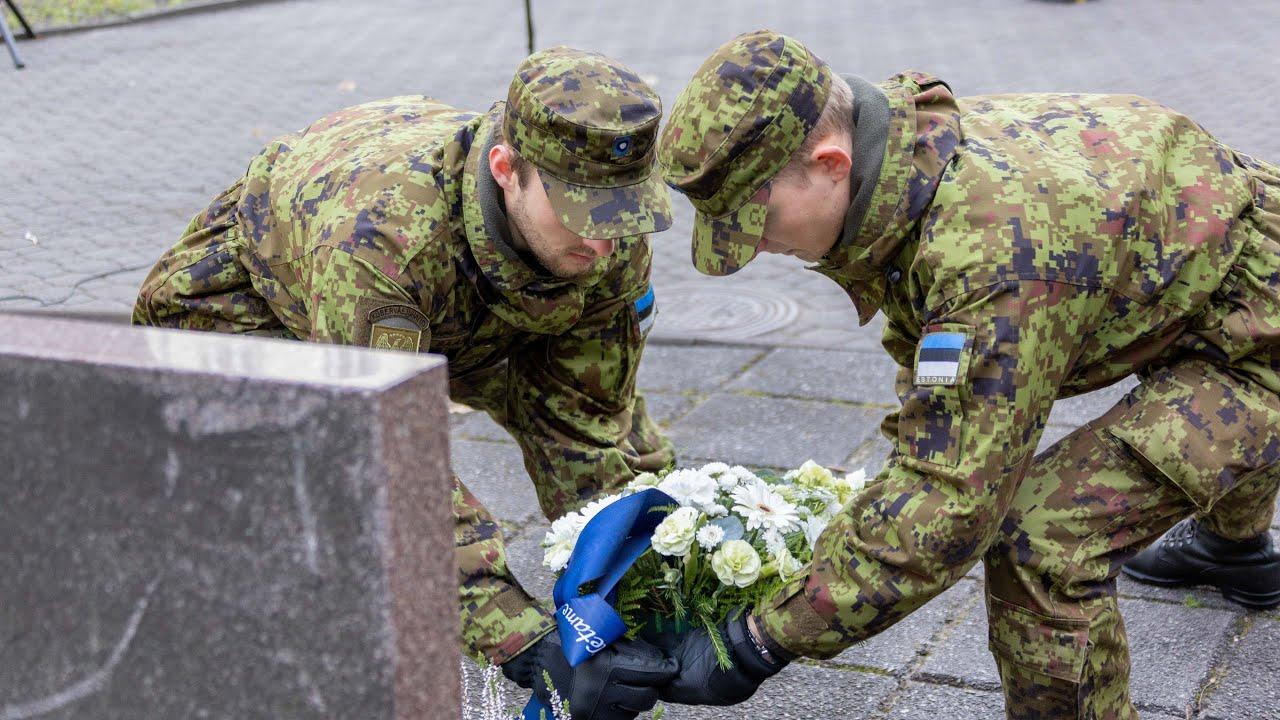 Staabi- ja sidepataljon tähistas taasloomise aastapäeva
