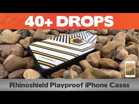 40+ DROPS with the Rhinoshield Playproof? Does the iPhone Survive? iPhone 6(s) case reviews