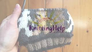 Intarsia/Color-Stranding Hybrid - KnittingHelp.com - Advanced Topic