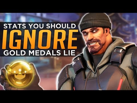 Overwatch: GOLD MEDALS LIE! - Stats You Should IGNORE