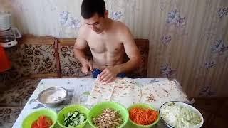 Домашняя шаурма 12 штук за 400 рублей