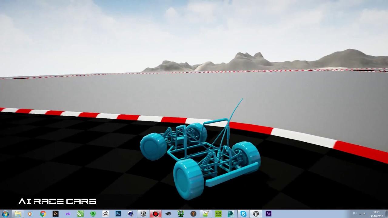 Ai cars blueprint ue 4 marketplace youtube ai cars blueprint ue 4 marketplace malvernweather Image collections
