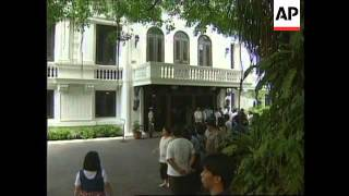 PHILIPPINES: PRESIDENT ELECT ESTRADA TOURS PRESIDENTIAL PALACE