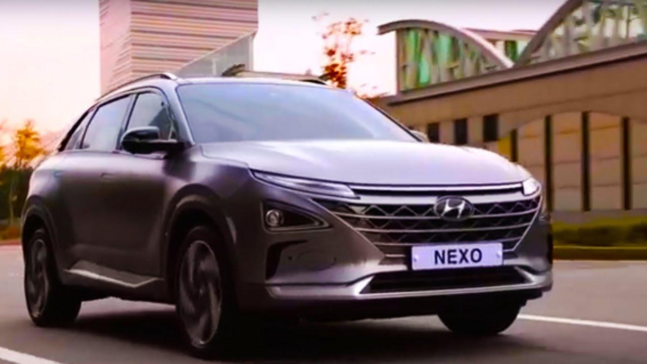Get Ready for Hyundai NEXO - Hydrogen Fuel Cell Car - 2019