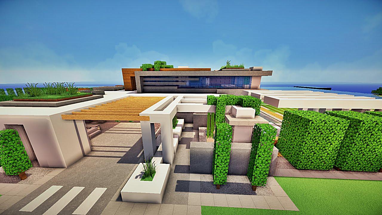 Maisons des abonn s 4 de klud et pepsilou youtube for Maison moderne dans minecraft