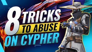 8 BEST Tips T๐ SOLO Hard Carry as Cypher - Valorant