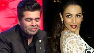 OMG! Karan Johar confesses his LUST for Malaika Arora Khan!