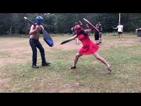Foam Sword Fighting