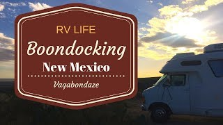 Boondocking New Mexico  RVlife
