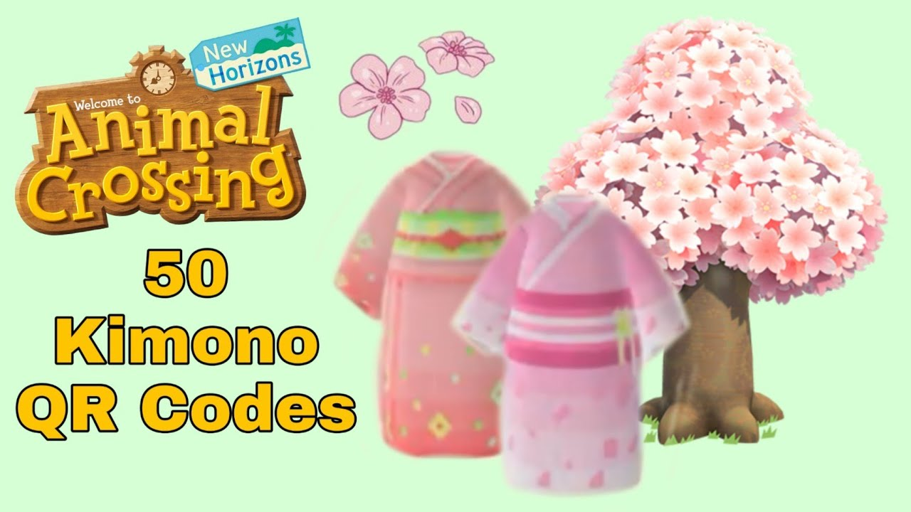Animal Crossing New Horizons Kimono Design Ids Codes Youtube