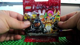 Lego minifigures series 7 Openings x 17 Review