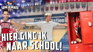 TOUR DOOR MIJN AMERIKAANSE HIGH SCHOOL!! 😍🇺🇸| Tom & Mats in Amerika #17