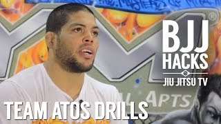 Andre Galvao (ATOS) Jiu-Jitsu Drills & Secrets to Success || BJJ Hacks TV Episode 2.1
