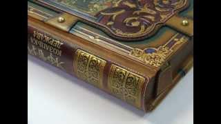 Подарочные книги: кожаный переплет. Ручная работа.(Вся работа по изготовлению книг в кожаном переплёте выполняется вручную, без использования загибочных,..., 2012-06-13T09:32:37.000Z)