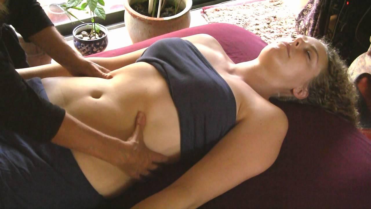 How to Massage Front Tummy  Upper Chest Athena Jezik