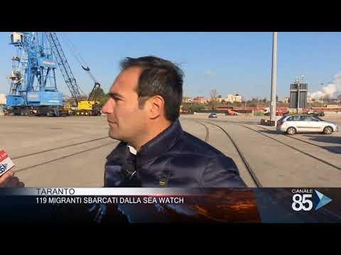 16 Gennaio 2020   Taranto   119 migranti sbarcati dalla Sea Watch