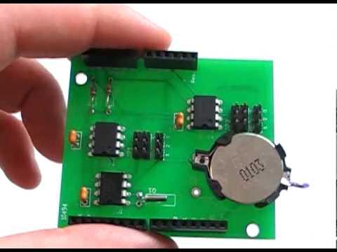 Arduino RTC / EEPROM Shield