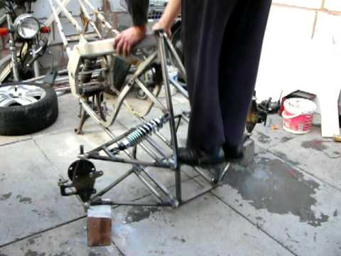 Air Bags Suspension >> Reverse Trike - suspension working - YouTube